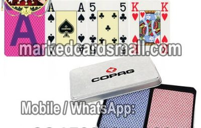 What are marked playing cards?